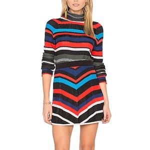 Matching Sweater Set Retro Stripes